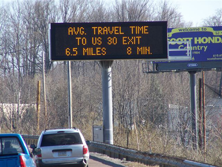 Providing drivers with more information about their commutes can help them to handle delays calmly.