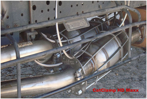 catalytic converter CatClamp