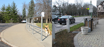 A variety of safety barriers are possible.
